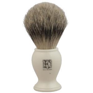 Geo. F. Trumper PB2IS Simulated Ivory Super Badger Shaving Brush
