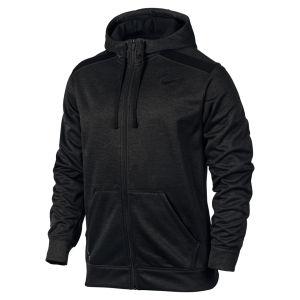 Nike Men's Shield Nailhead Full Zip Hoody - Black