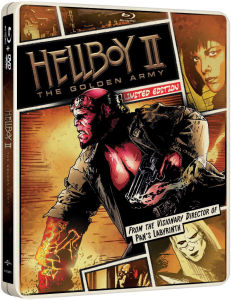 Hellboy II: The Golden Army - Import - Limited Edition Steelbook (Region Free)