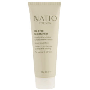Natio For Men Oil Free Moisturiser -kosteusvoide (100g)