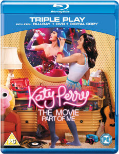 Katy Perry: Part of Me - Triple Play (Blu-Ray, DVD and Digital Copy)
