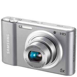Samsung ST68 Digital Camera – Silver (16MP, 5x Optical, 2.7 Inch LCD)
