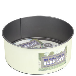 Great British Bake Off 8 Inch Vintage 2 Tone Non Stick Loose Base Round Cake Tin