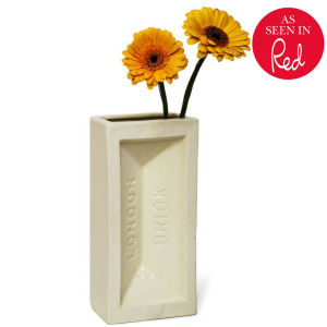 Stolen Form Brick Vase - Off White