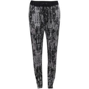 Vero Moda Women's Mountains Printed Trouser - Black