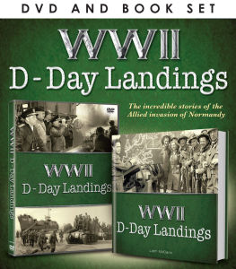 WWII: D-Day Landings (Includes Book)