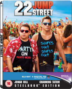 22 Jump Street - Zavvi Exclusive Limited Edition Steelbook