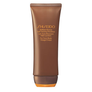 Shiseido Brilliant Bronze Self Tanning Emulsion (Face & Body) (100 ml)