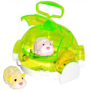 Zhu Zhu Hamster On The Go Hotel Carrier