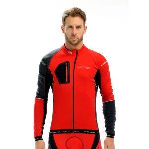 Look Ultra Long Sleeve Jersey - Red/Grey