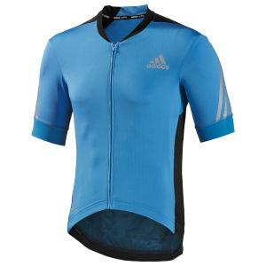 Adidas Supernova Short Sleeve Jersey - Solar Blue/Black