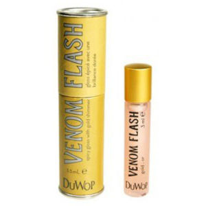 Duwop Lip Venom Flash Gold -huulikiilto (3,5ml)