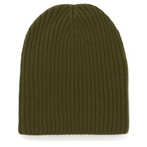 M Missoni Ribbed Beanie Hat - Muschio