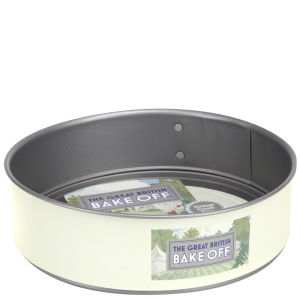 Great British Bake Off 9 Inch Vintage 2 Tone Non Stick Springform Round Cake Tin