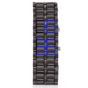 Armour Cladded LED Watch