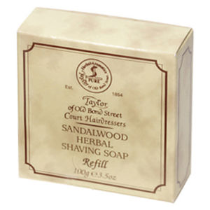Taylor of Old Bond Street Sandalwood Shaving Soap Refill (100 g)