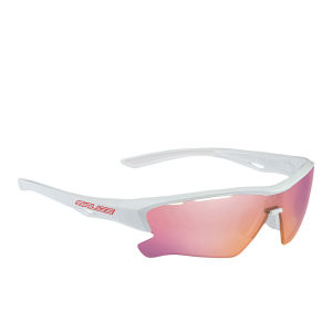 Salice 011 RW Radium Sports Sunglasses - Mirror - White-Red/RW Radium