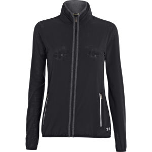 Under Armour Women's Second Wind Perf Jacket - Black/Reflective