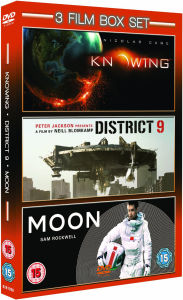 3 Film Box Set: Knowing/District 9/Moon