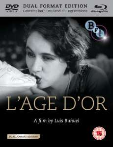 LAge dor (DVD and Blu-Ray)