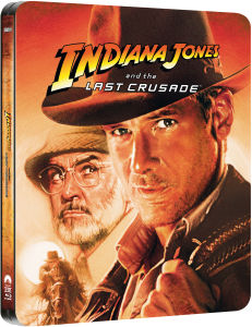 Indiana Jones and the Last Crusade - Zavvi Exclusive Limited Edition Steelbook