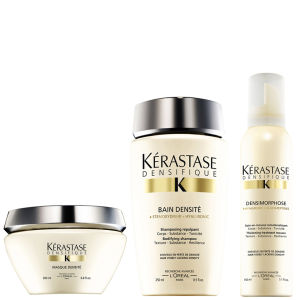 Trio Kérastase Densifique Bain Densite (250ml) Masque Densite (200ml) y Mousse Densimorphose (150ml)
