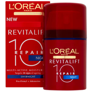 L'Oreal Paris Dermo-Expertise Revitalift Repair 10 Multi-Active Night Moisturiser (50ml)