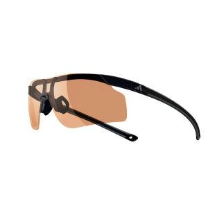 Adidas Adizero Tempo Halfrim Sunglasses - Black/Grey - S