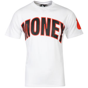 Money Men's Arial Arch T-Shirt - White