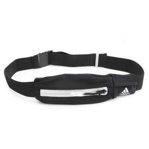adidas Unisex Media Belt - Black/Silver/Solar Blue
