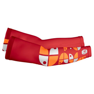 Sugoi Provence Arm Sleeve - Red