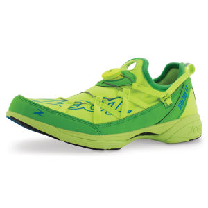 Zoot Men's Ultra Race 4.0 Trainers - Safety Yellow/Green Flash/Zoot Blue