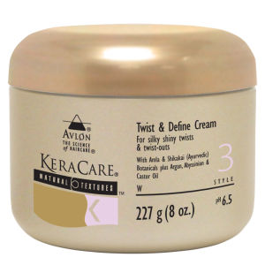 KeraCare Natural Textures Twist and Define Crème Définissante (227g)