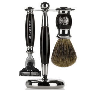 Gentlemen's Tonic Mayfair zestaw do golenia – Ebony