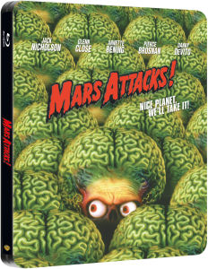 Mars Attacks! - Steelbook Exclusivo de Zavvi (Edición Limitada)