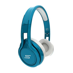 SMS Audio by 50 Cent Street Wired Headphones Includes Passive Noise Cancellation - Teal