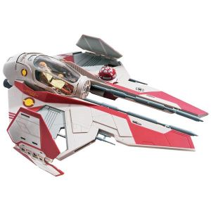 Star Wars Obi-Wan's Jedi Starfighter Snaptite Model