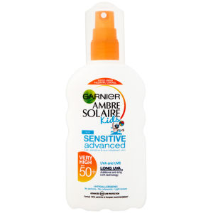 Garnier Ambre Solaire Kids Sensitive Sun Cream Spray SPF 50+ 200ml