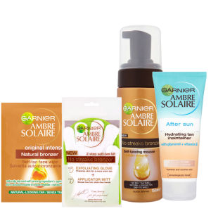 Garnier Ambre Solaire Self Tan Set 4 (4 Products)