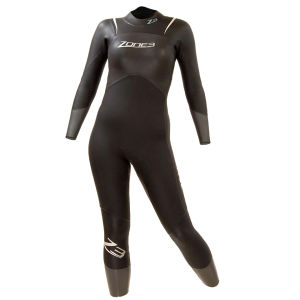 Zone3 Women's Advance Wetsuit -  Black/Grey