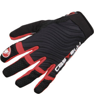 Castelli CW 6.0 Cross Gloves - Black/Red