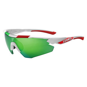 Salice 012 ITA/RW Sport Sunglasses - White/Green