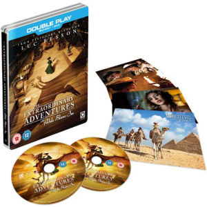 The Extraordinary Adventures of Adele Blanc Sec - Limited Steelbook Edition (Includes Blu-Ray and DVD Copy) (UK EDITION)