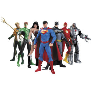 DC Comics New 52 Justice League 7 Pack Action Figure Box Set