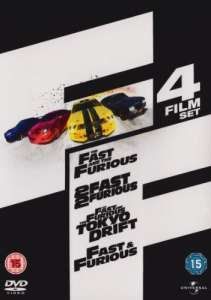 Fast & Furious 4 Disc Dvd Box Set