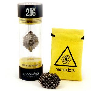 Nanodots Magnetische Kügelchen, schwarz, 216 Teile