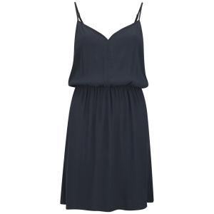 VILA Women's Founder Swing Dress - Total Eclipse