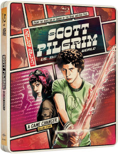 Scott Pilgrim Vs. The World - Importación - Steelbook de Edición Limitada (Region Free)
