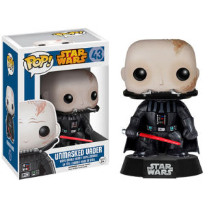 Star Wars Darth Vader Unmasked Pop! Vinyl Bobble head Figur