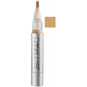 New CID Cosmetics i-conceal Brush-On Fluid Concealer- Medium Dark